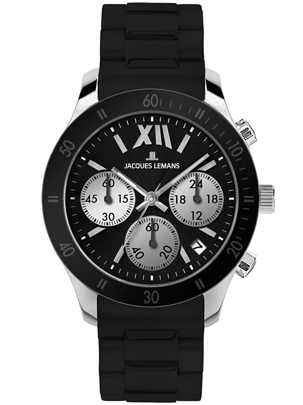 Jacques Lemans Damenuhr Rome Sports Chronograph 1-1587A