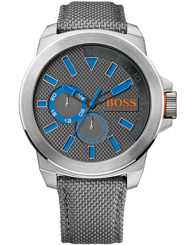 Image of BOSS ORANGE 1513013 Textilband grau Herren 50 mm