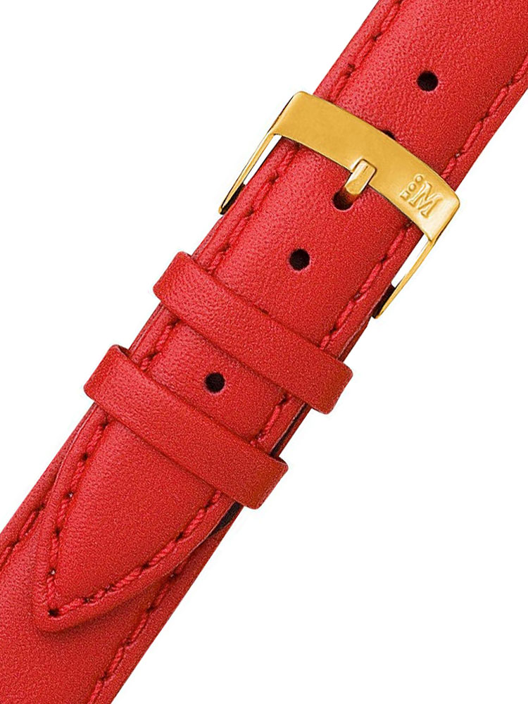 Image of Morellato A01D1877875083CR14 rotes Uhrenarmband 14mm