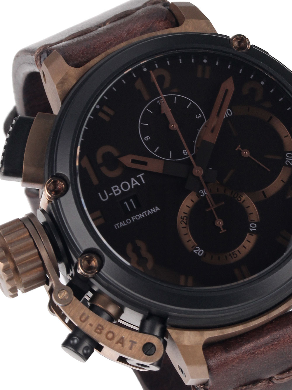 Image of U-Boat 7475 Chimera Chrono B and B 46mm 10ATM Limited x/300