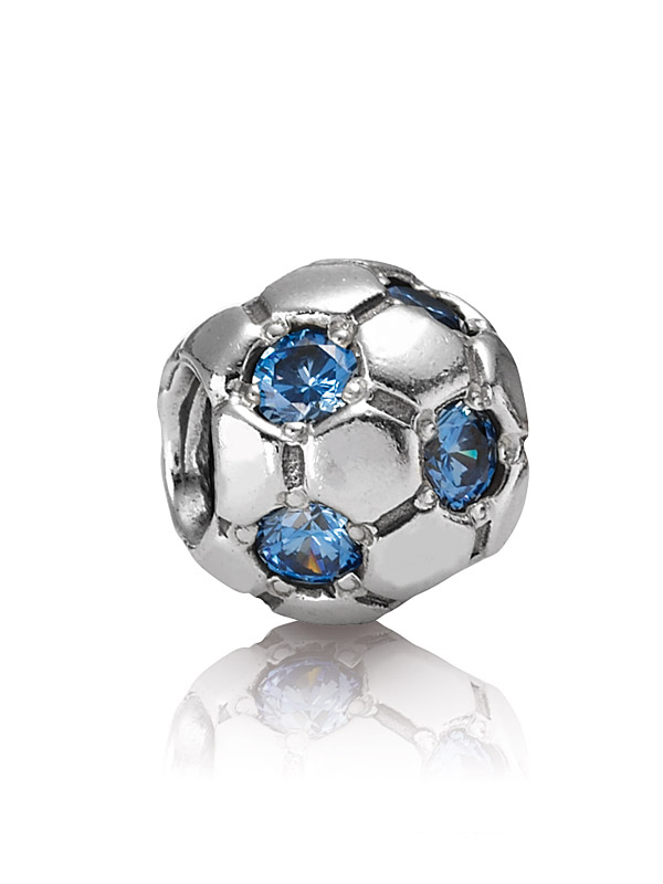 Pandora Moments 790444CZB Charm Fussball