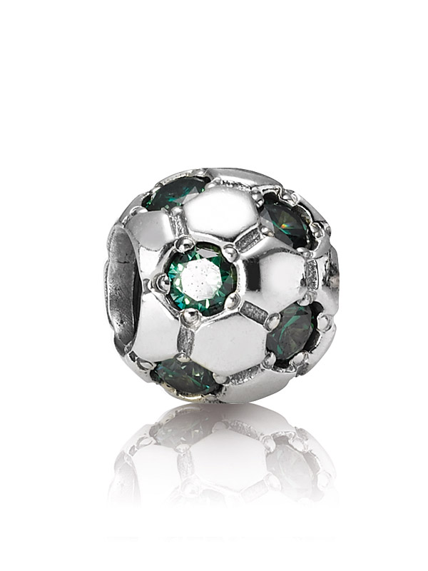 Pandora Moments 790444CZN Charm Fussball