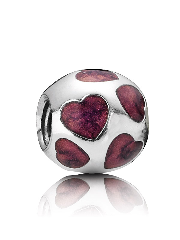 Pandora Moments 790543EN21 Charm Herzen