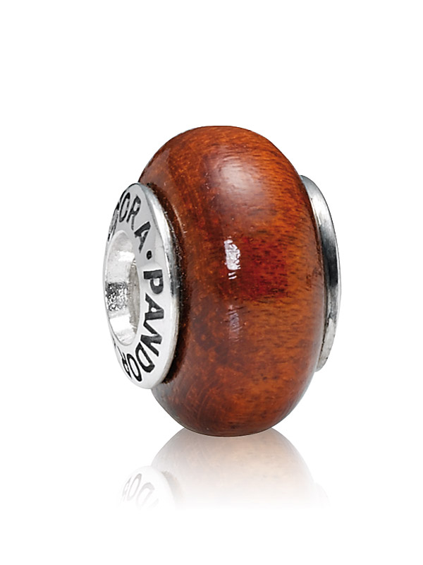 Pandora Moments 790703 Charm Muirapiranga Holz