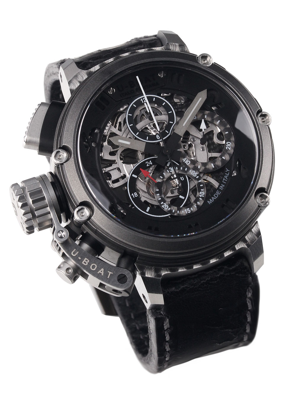 Image of U-Boat 8028 Chimera Skeleton Chronograph Autom. 46mm 100M