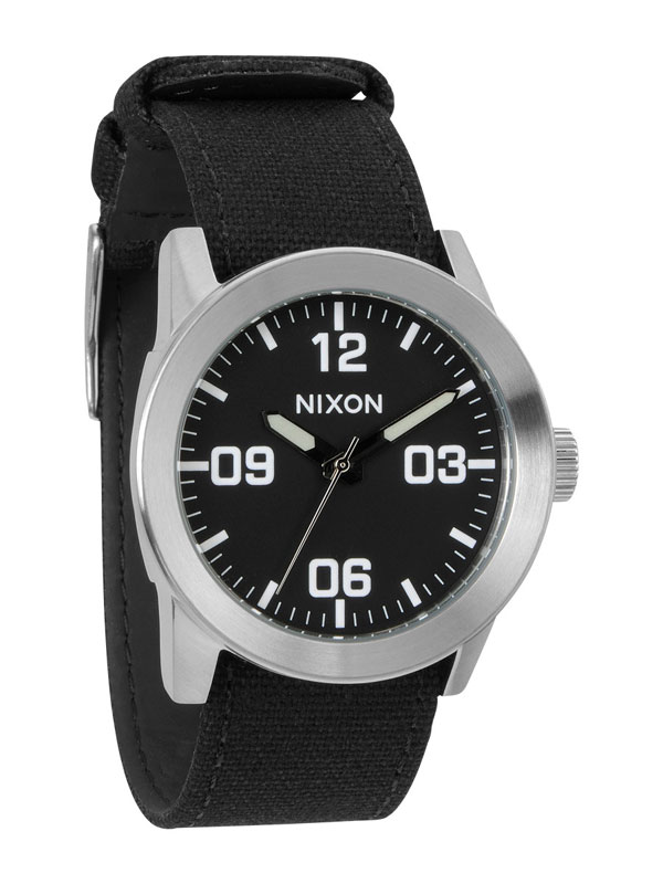 NIXON Private A-049-000 Black Herrenuhr