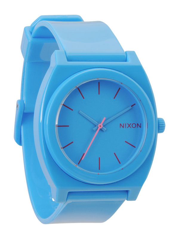 NIXON Time Teller P A-119-606 Bright Blue