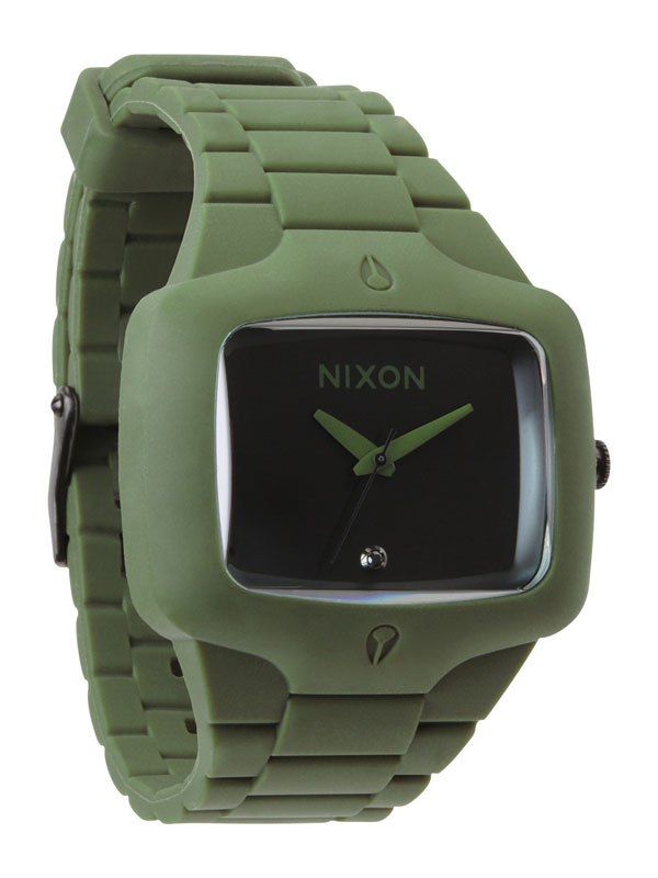NIXON Rubber Player A-139-1042 Matte Black Surplus Unisexuhr