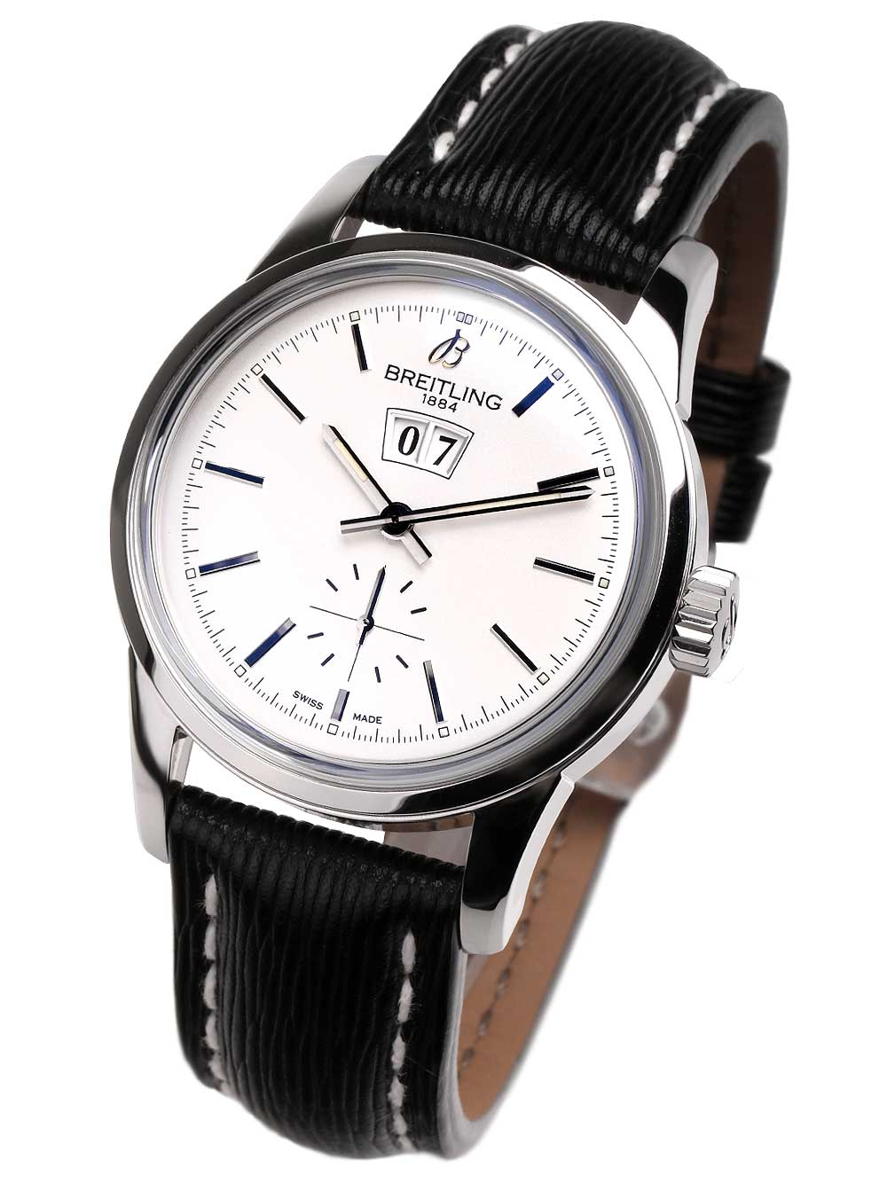 Image of Breitling A1631012.G781.218X Transocean 38 Herren 38mm 10ATM