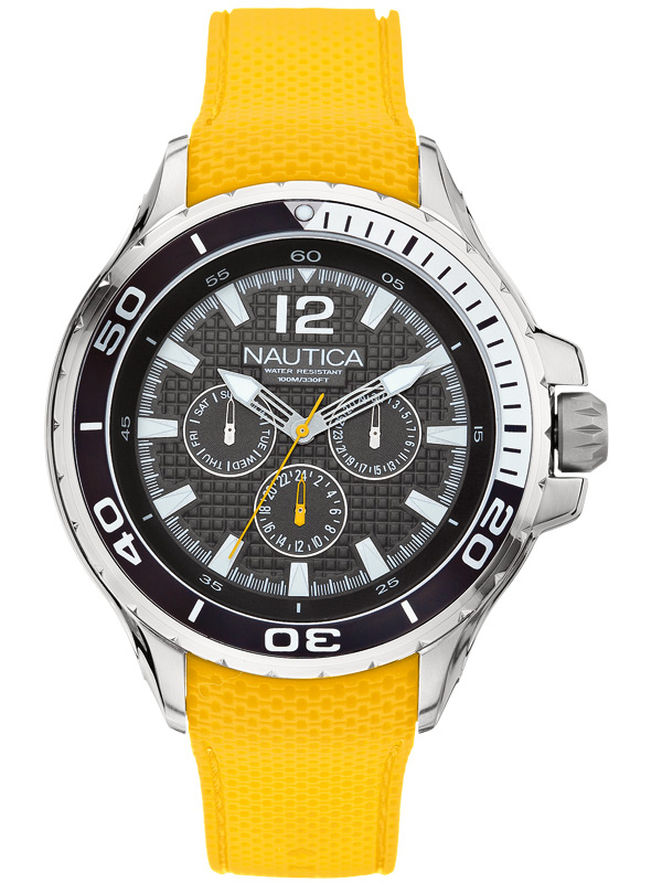 NAUTICA NST 02 48 mm A17615G 10 ATM Multifunktion