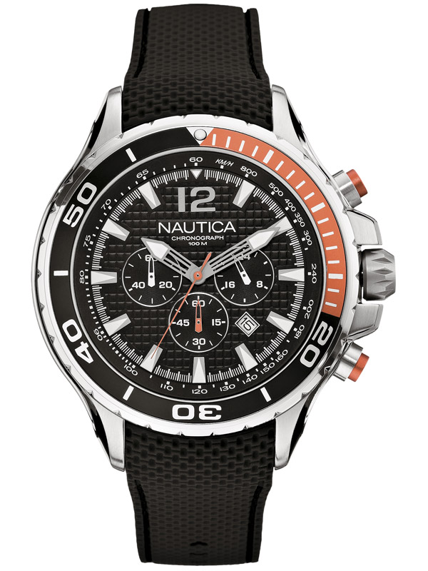Image of NAUTICA NST 02 48 mm A21017G 10 ATM Chronograph