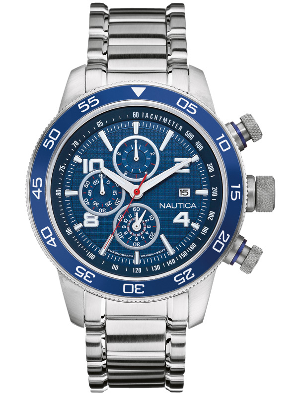 Image of NAUTICA NCT 402 A24534G Chrono 47 mm 10 ATM