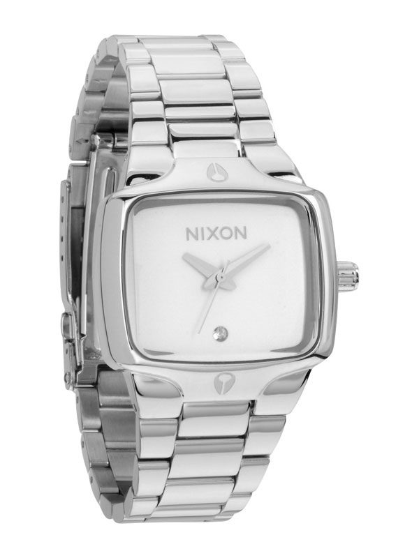NIXON Small Player A-300-100 White Damenuhr