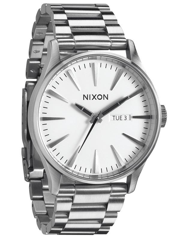 NIXON Sentry SS A-356-100 White Herrenuhr