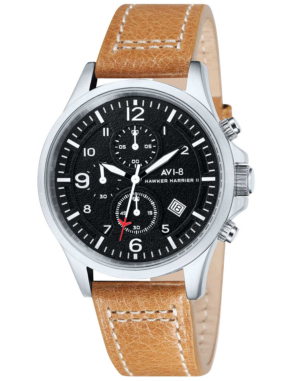 Image of AVI-8 AV-4001-02 Hawker Harrier II Chrono 42mm 5ATM
