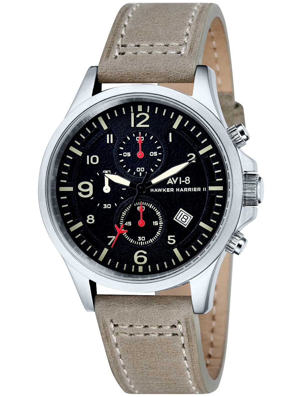 Image of AVI-8 AV-4001-03 Hawker Harrier II Chrono 42mm 5ATM
