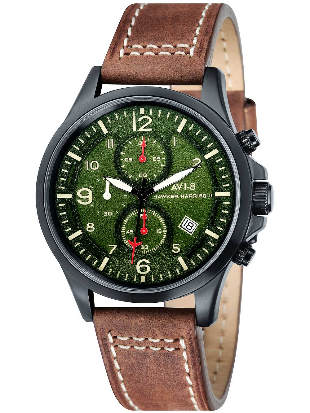 Image of AVI-8 AV-4001-04 Hawker Harrier II Chrono 42mm 5ATM