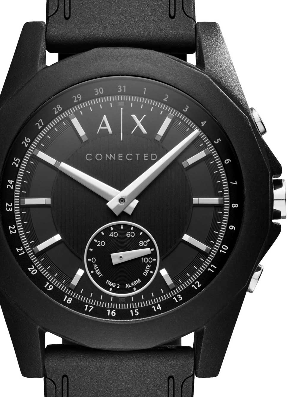 Image of Armani Exchange AXT1001 Exchange Connected Unisex 44mm 5ATM