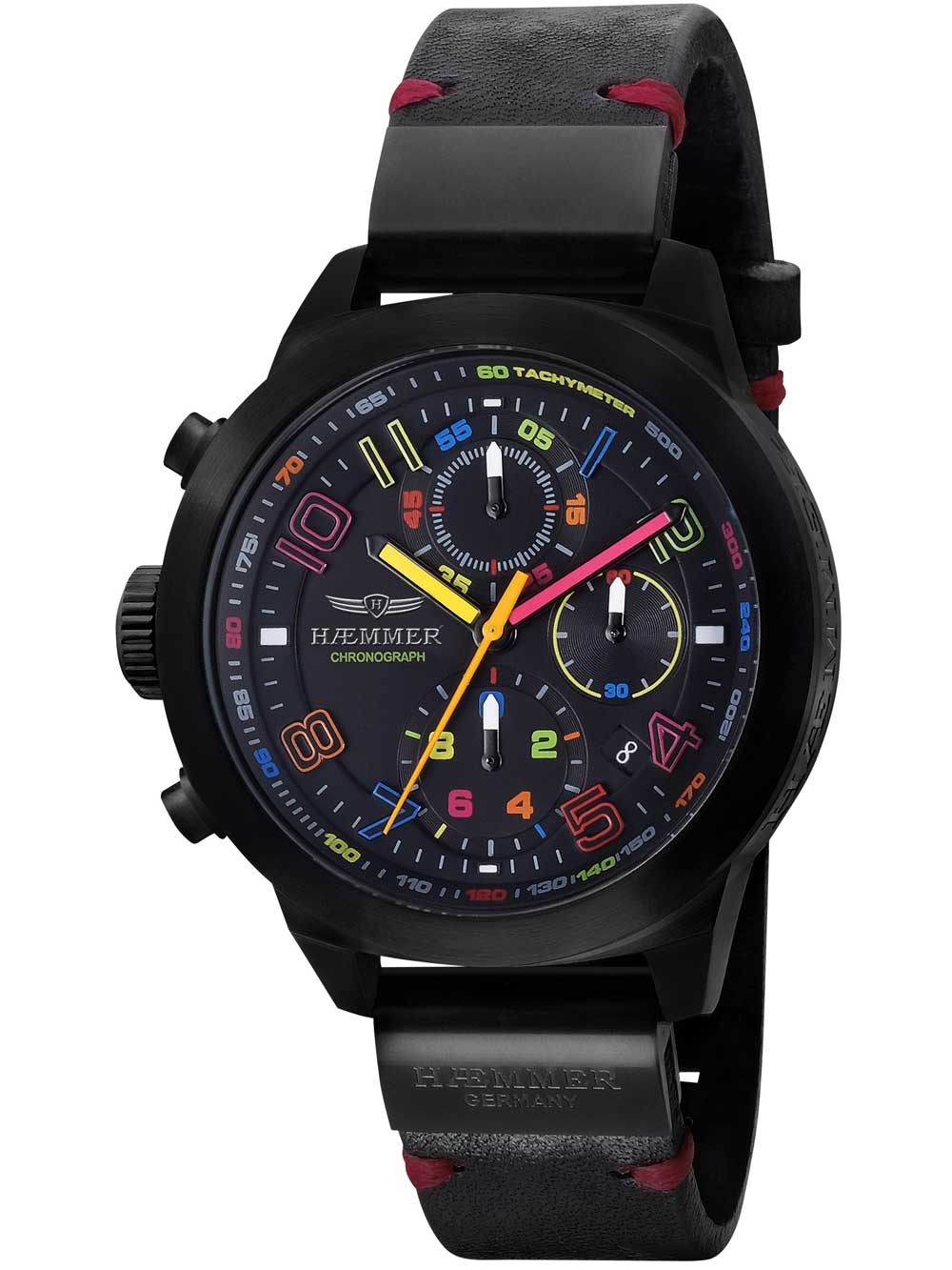 Image of Haemmer CR-01-D Salva Chronograph limitiert Unisex 45mm 10ATM