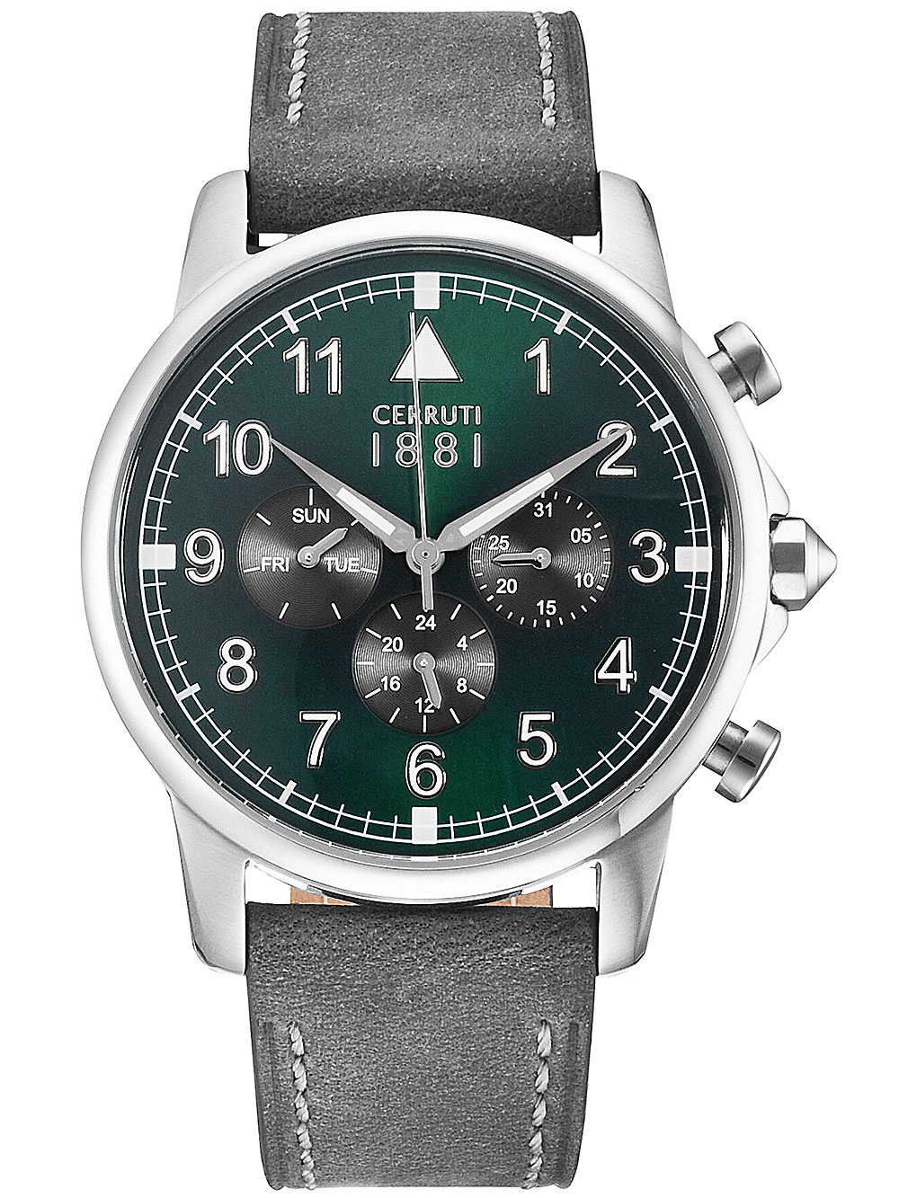 Image of Cerruti CRA081SN19GY Terra Chronograph 43mm 5ATM