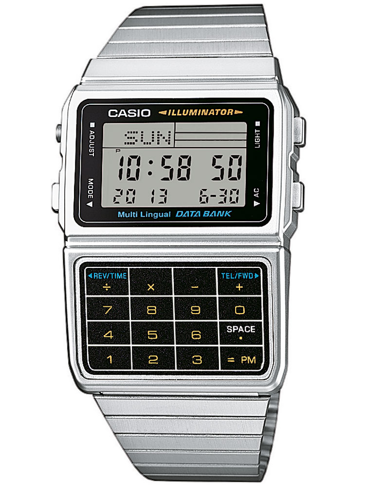 Casio DBC-611E-1EF Unisex Collection Chronograph 3 ATM 33 mm