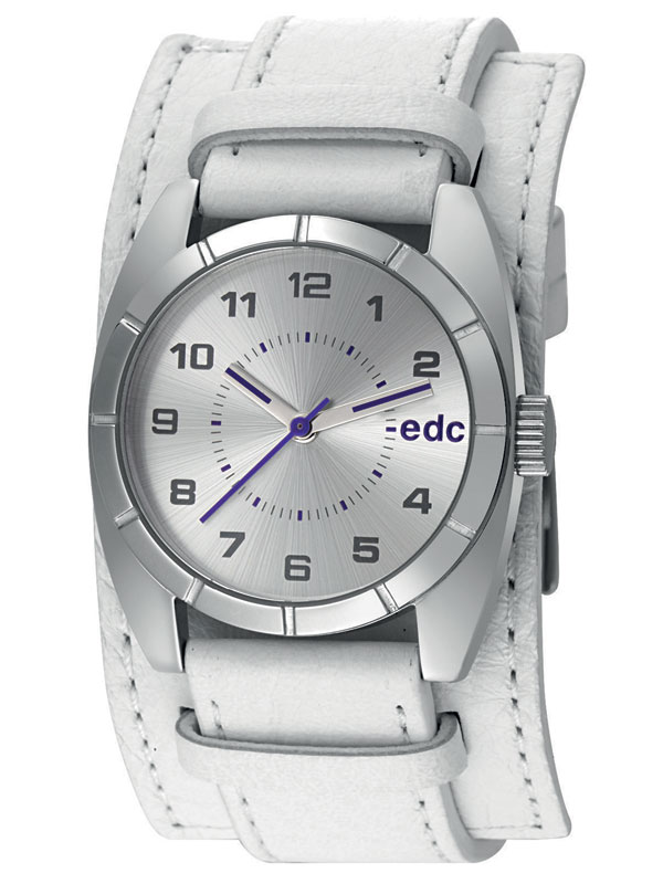 edc by Esprit EE100182004 Sundial Ray Pure White Damenuhr