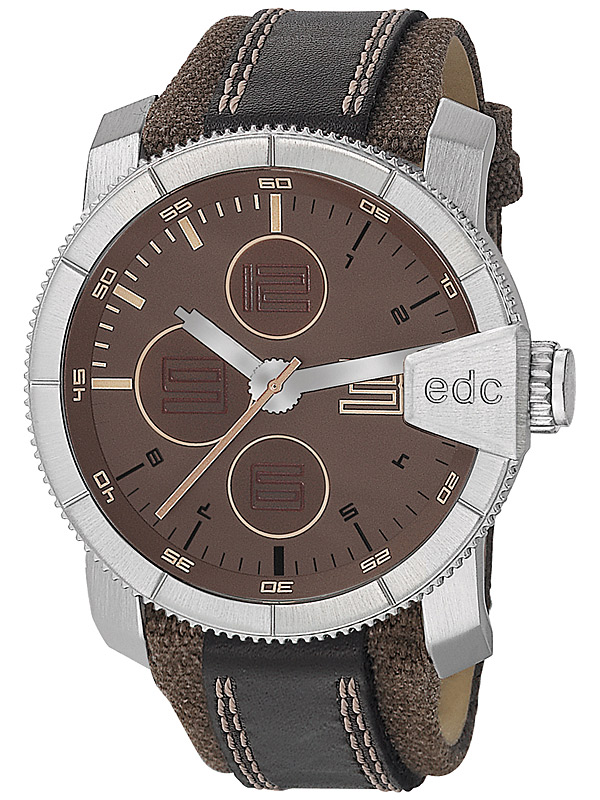edc by Esprit EE100791003 Rock Climber Tobacco Brown Herrenuhr