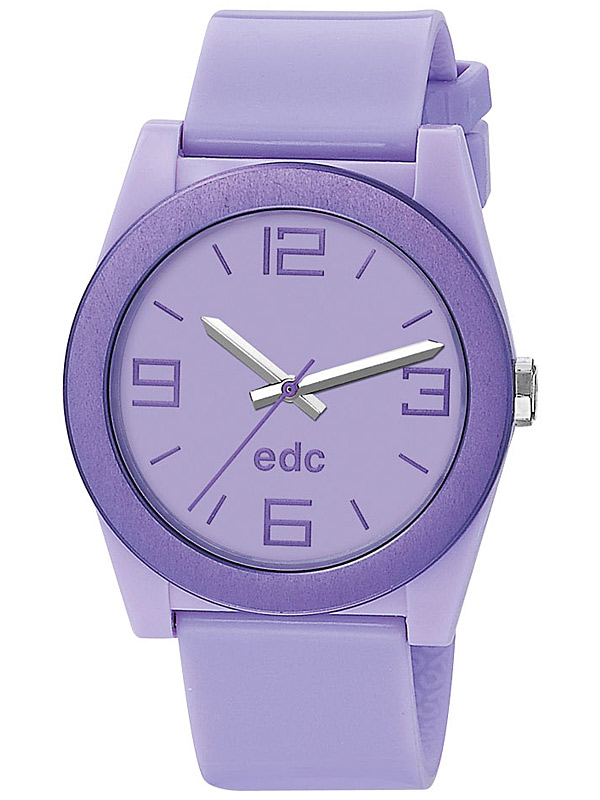 edc by Esprit EE100892003 Pure Frame Frosty Purple Damenuhr