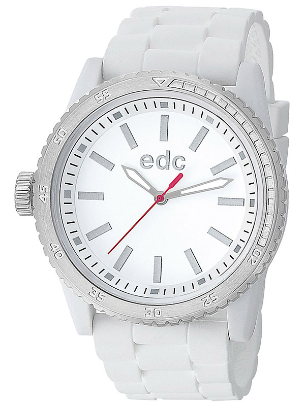 edc by Esprit EE100922001 Rubber Starlet Pure White Damenuhr