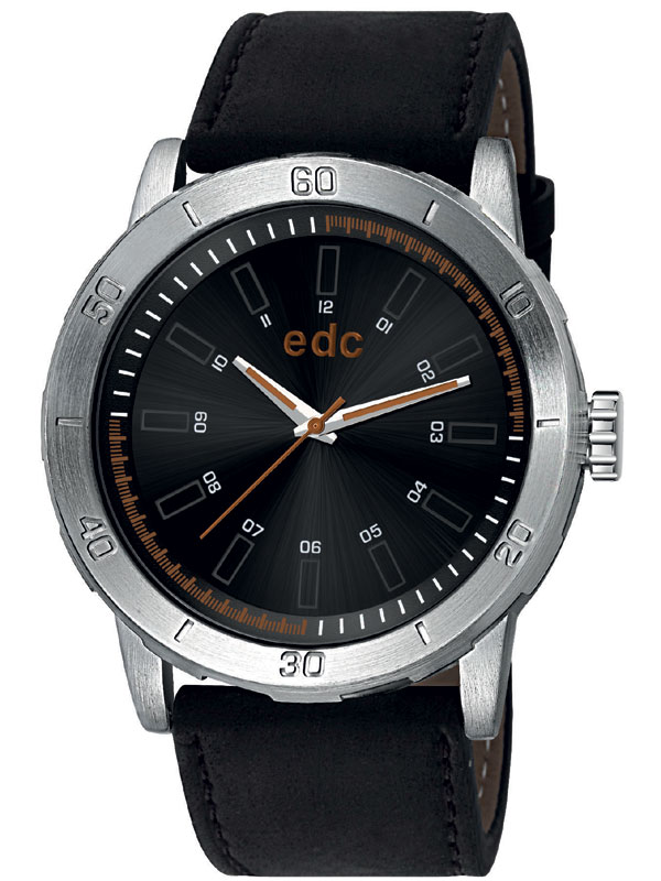 edc by Esprit EE100971003 Genuine Star Midnight Black Black Herrenuhr