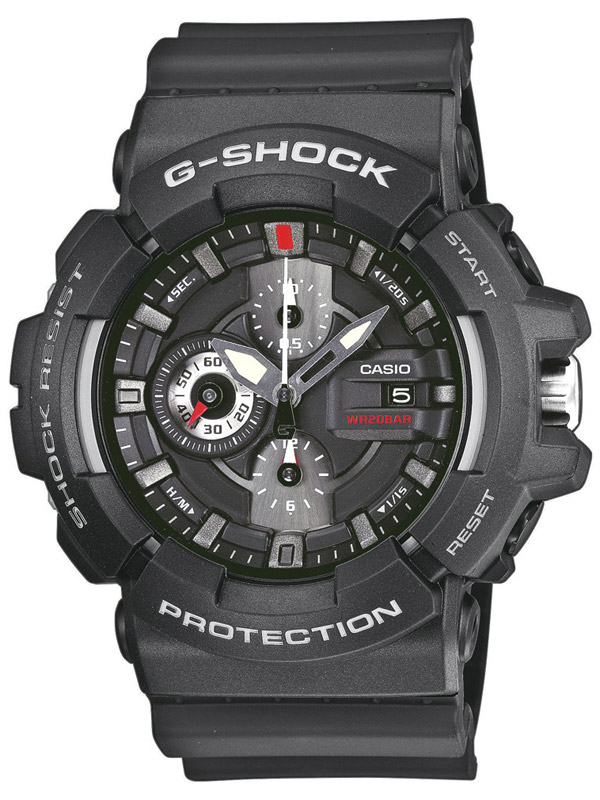 Casio G-Shock GAC-100-1AER Chronograph
