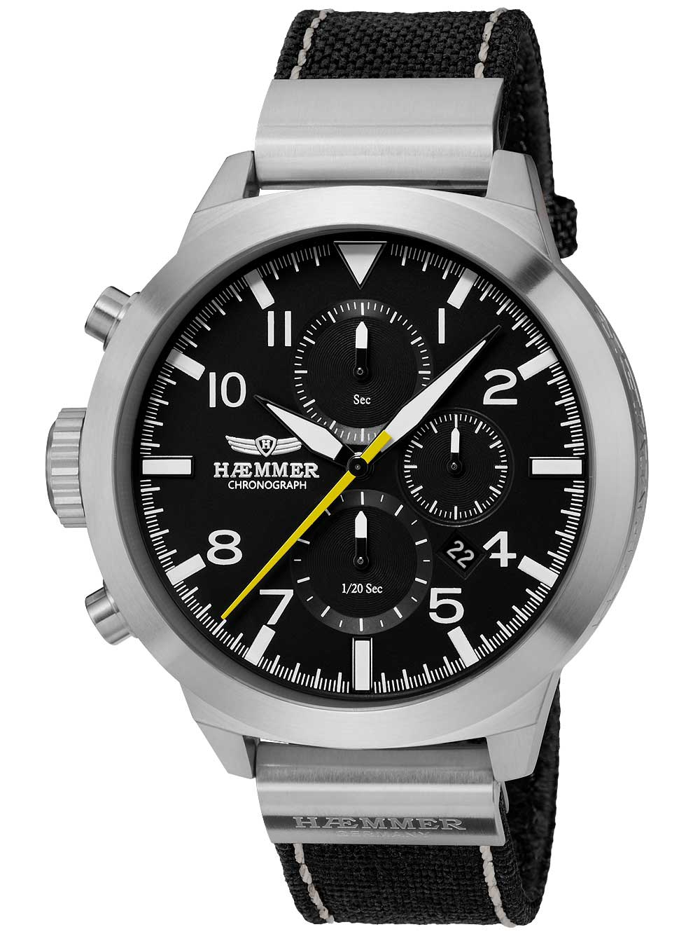 Image of Haemmer HF-01C Authentic Chronograph 50mm 10ATM