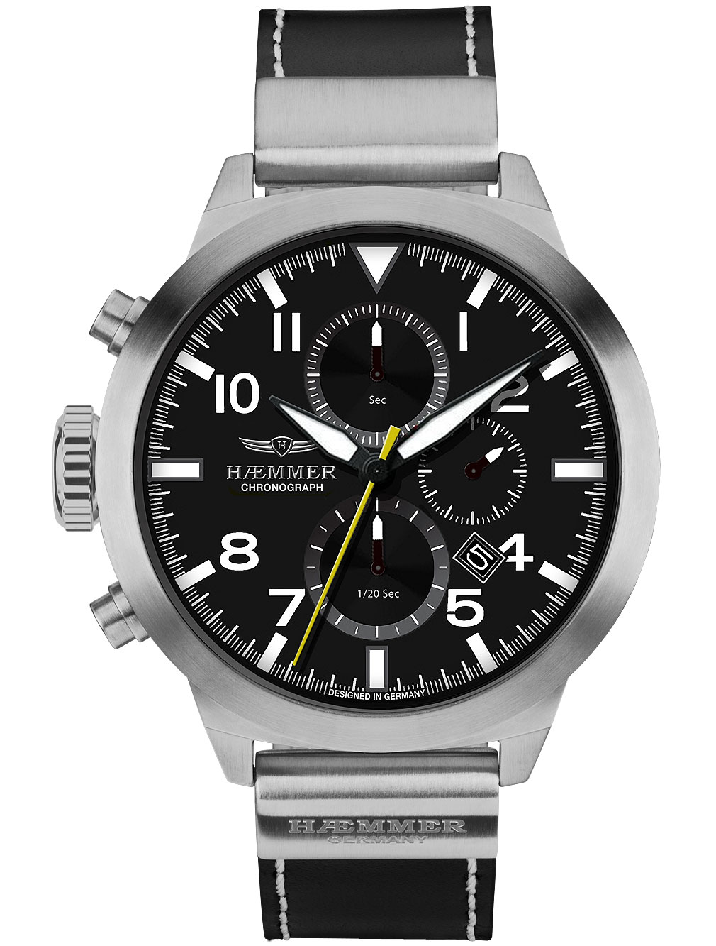 Image of Haemmer HF-01 Authentic Chronograph 50mm 10ATM