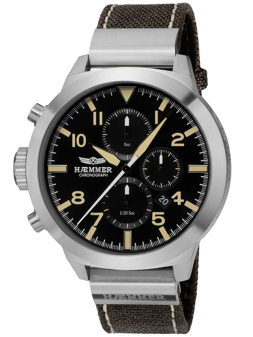 Image of Haemmer HF-03C Prudent Chronograph 50mm 10ATM
