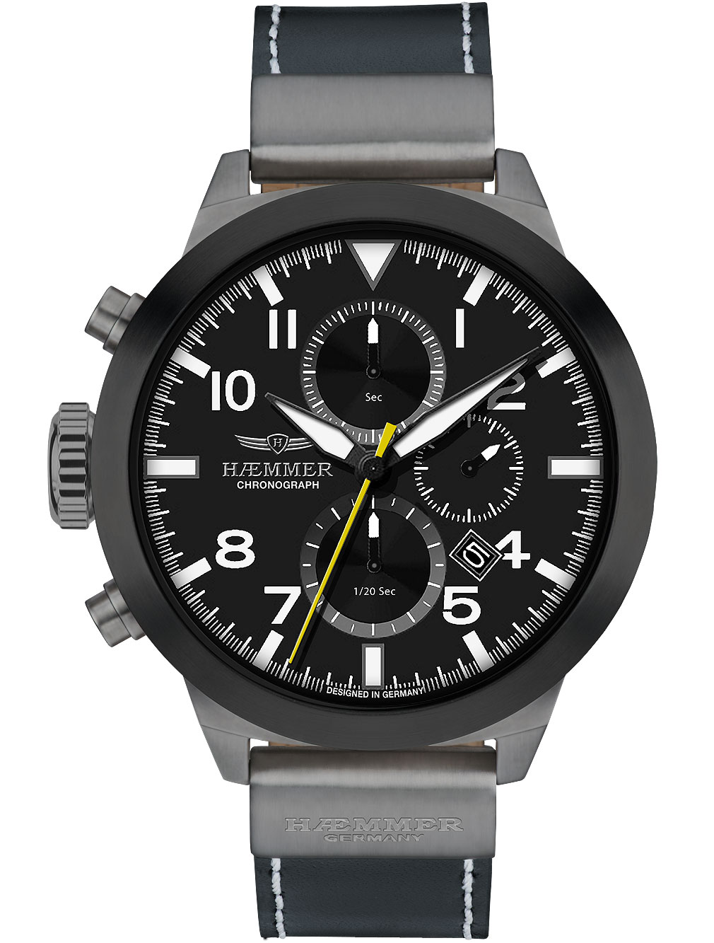 Image of Haemmer HF-05 Conclusive Chronograph 50mm 10ATM