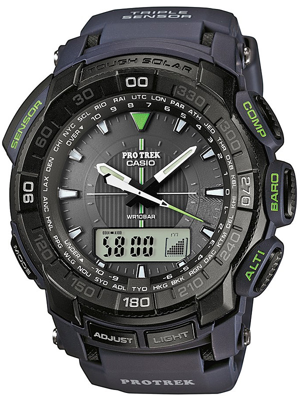 Casio Pro Trek PRG-550-2ER Outdoor Multifunktionsuhr