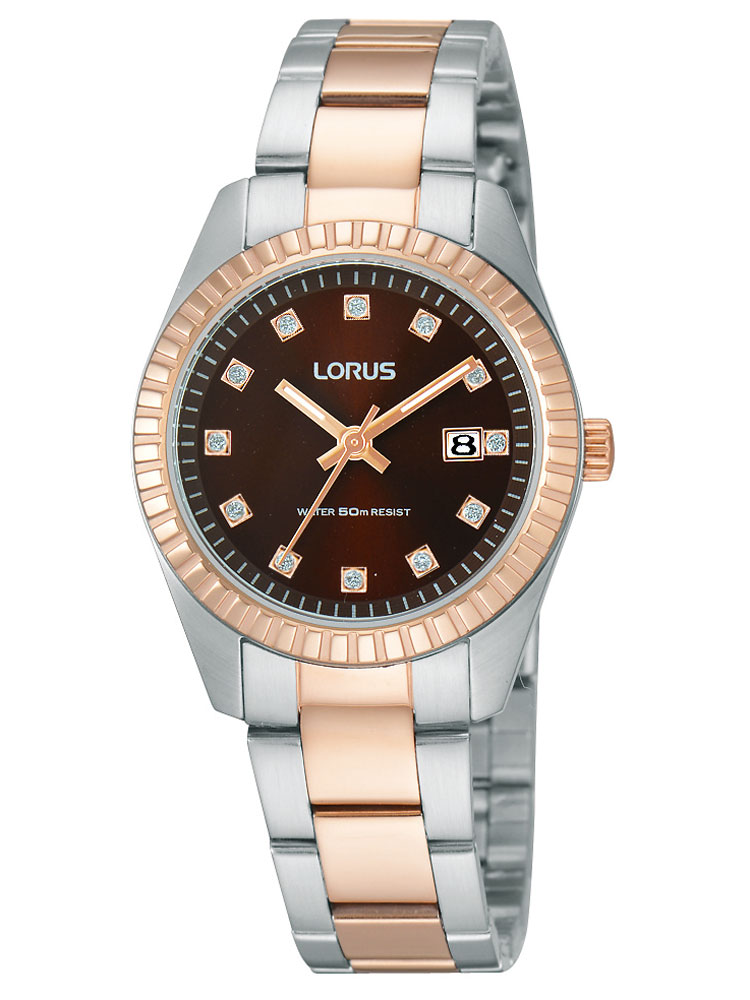 Lorus 5atm Rp636cx9 Damenuhr Multifunktion 37mm vYf76gby