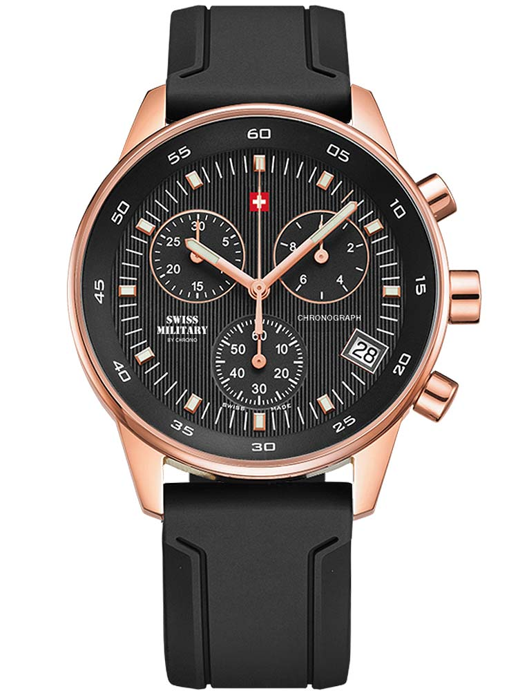 Image of Swiss Military SM30052.07 Chronograph roségold 40mm 5ATM