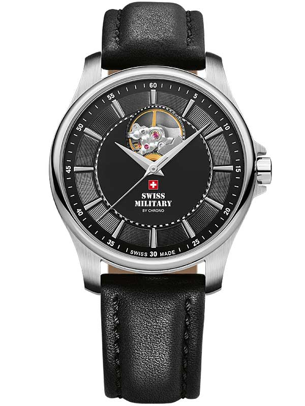 Image of Swiss Military by Chrono SMA34050.05 Automatik Herren 40mm 10ATM