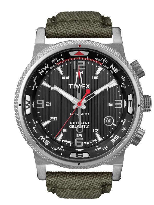 Timex Expedition E-Compass T2N726 IQ-Serie Herrenuhr