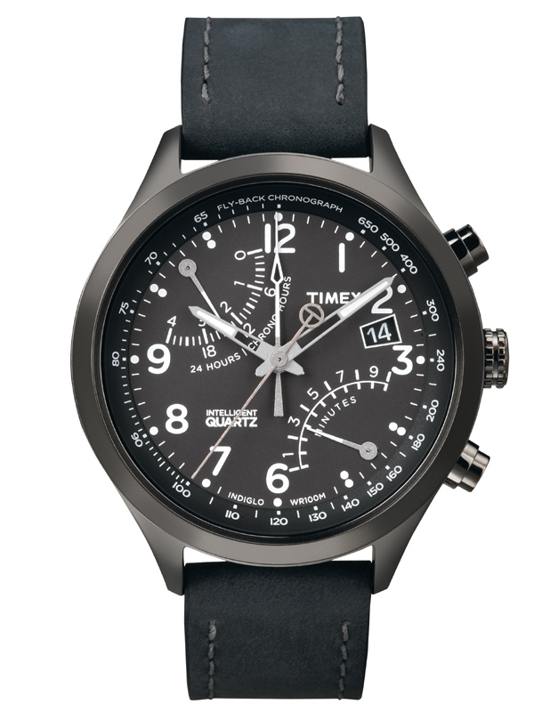 Timex T-Series Herrenuhr T2N930 Racing Fly Back Chronograph IQ