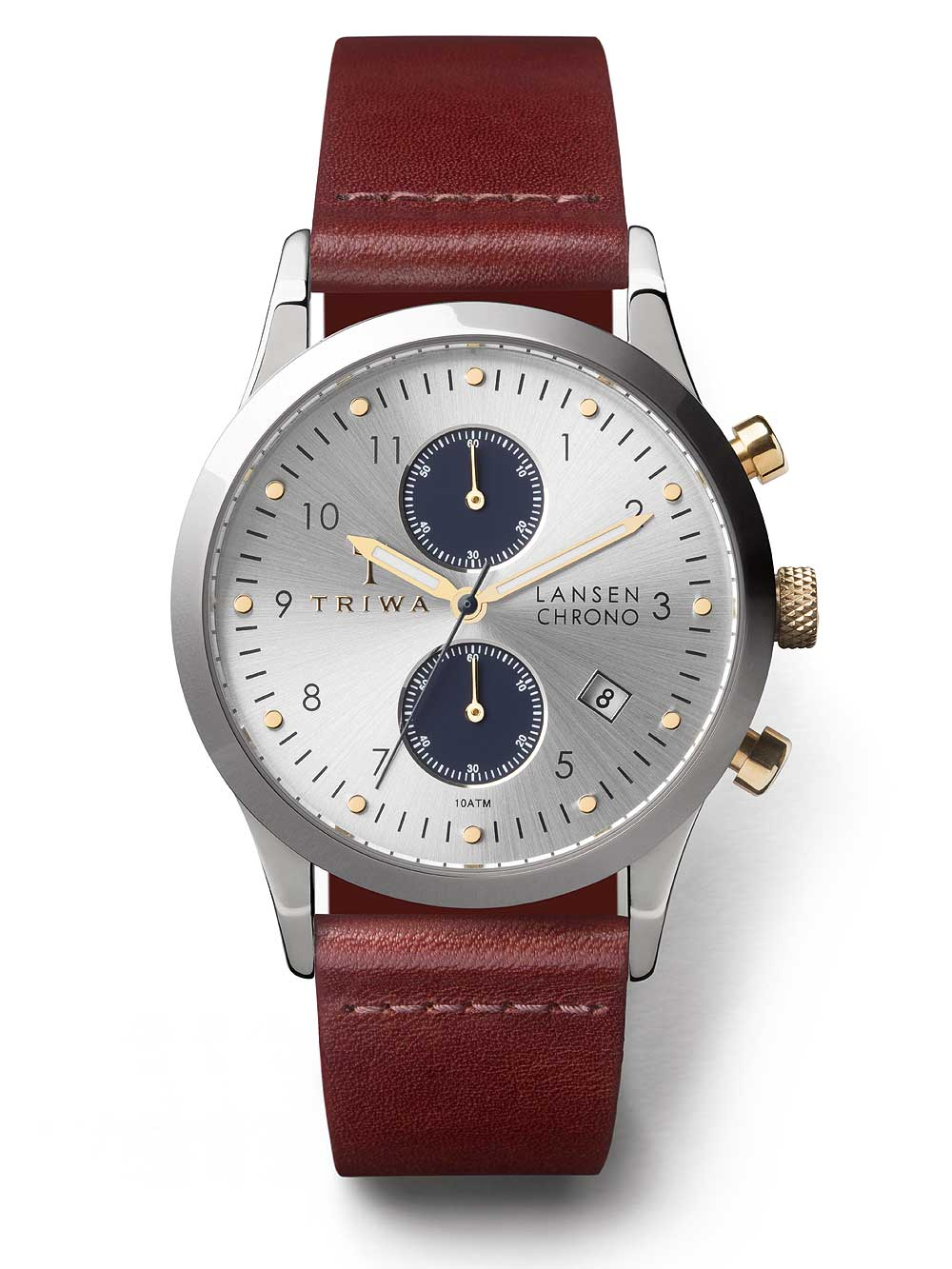 Image of Triwa TRLCST115CL010312 Chrono Lansen 38mm 10ATM