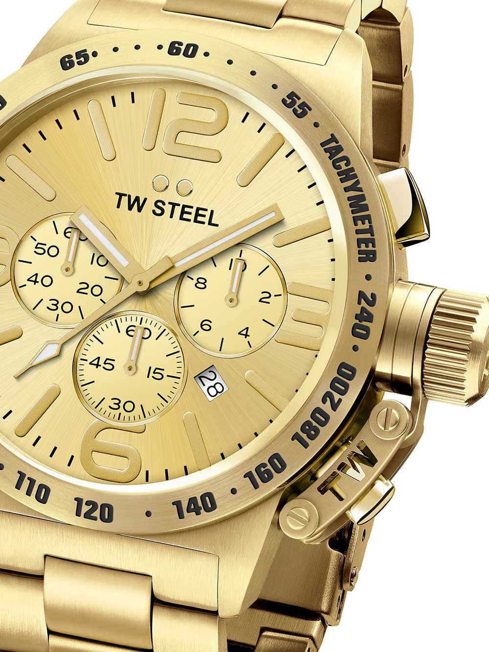 Image of TW-Steel CB103 Canteen Bracelet Chronograph 45mm 10ATM