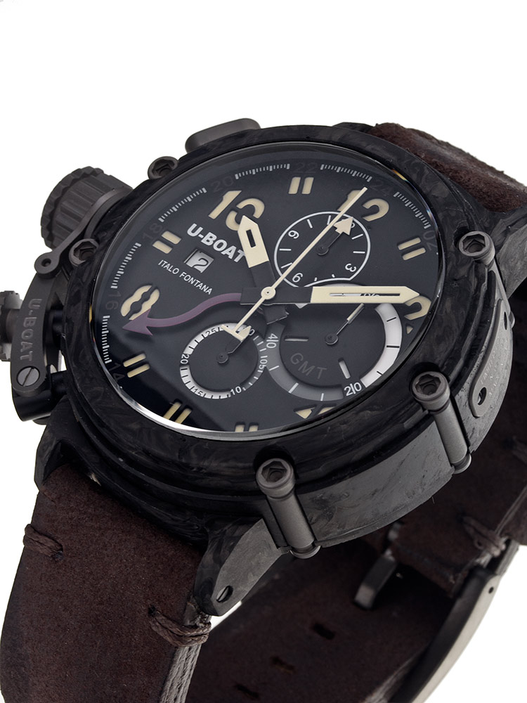 Image of U-Boat Chimera Carbon 7177 48 mm Limited X / 199 Autom. Chrono