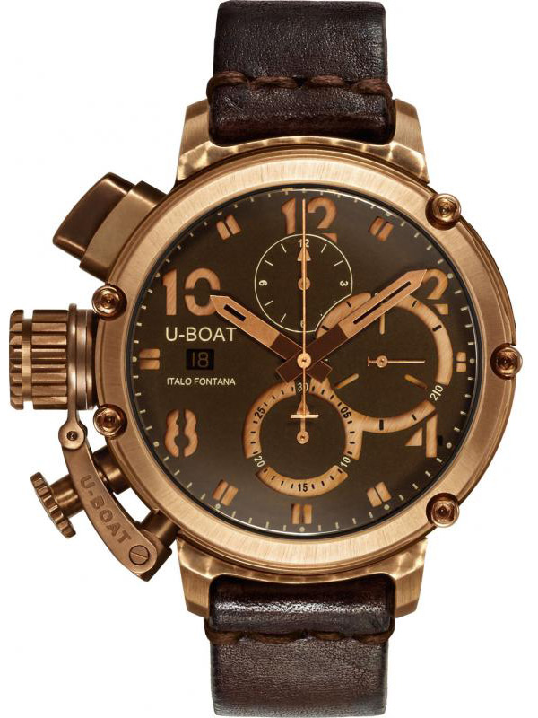 Image of U-Boat Chimera U-51 6945 Autom. Chronograph Bronze 46 mm