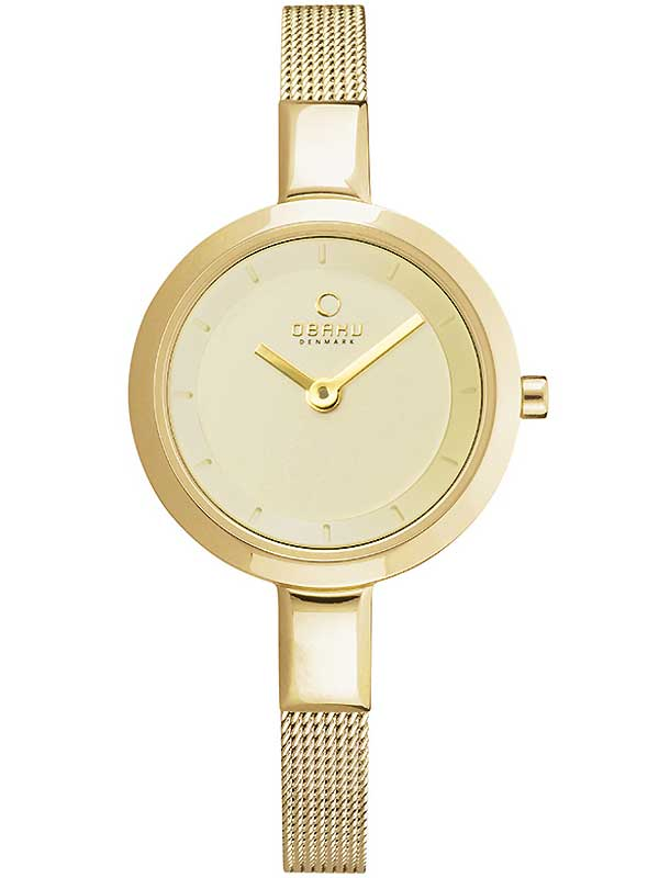 Image of Obaku V129LXGGMG Damen 26mm 3ATM