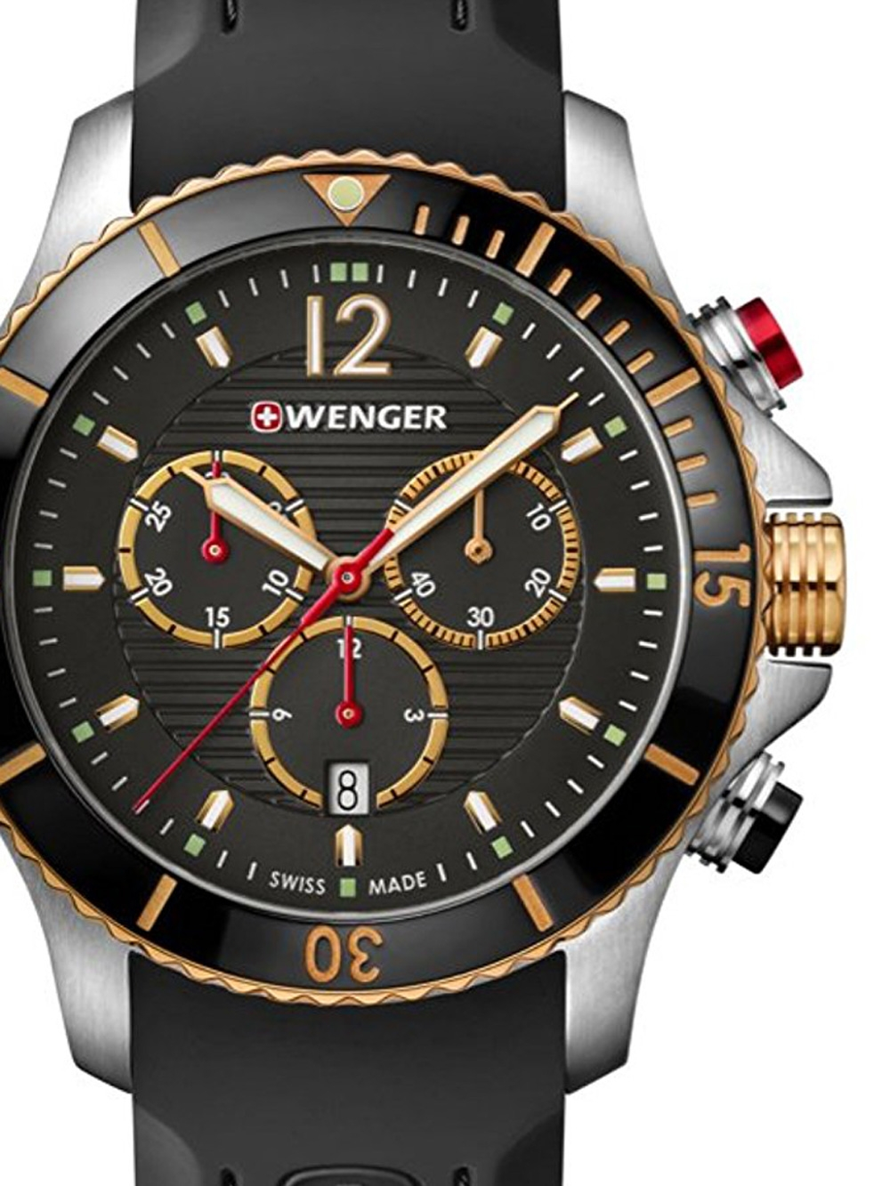 Wenger 01.0643.112 Seaforce Chronograph 43mm 20ATM