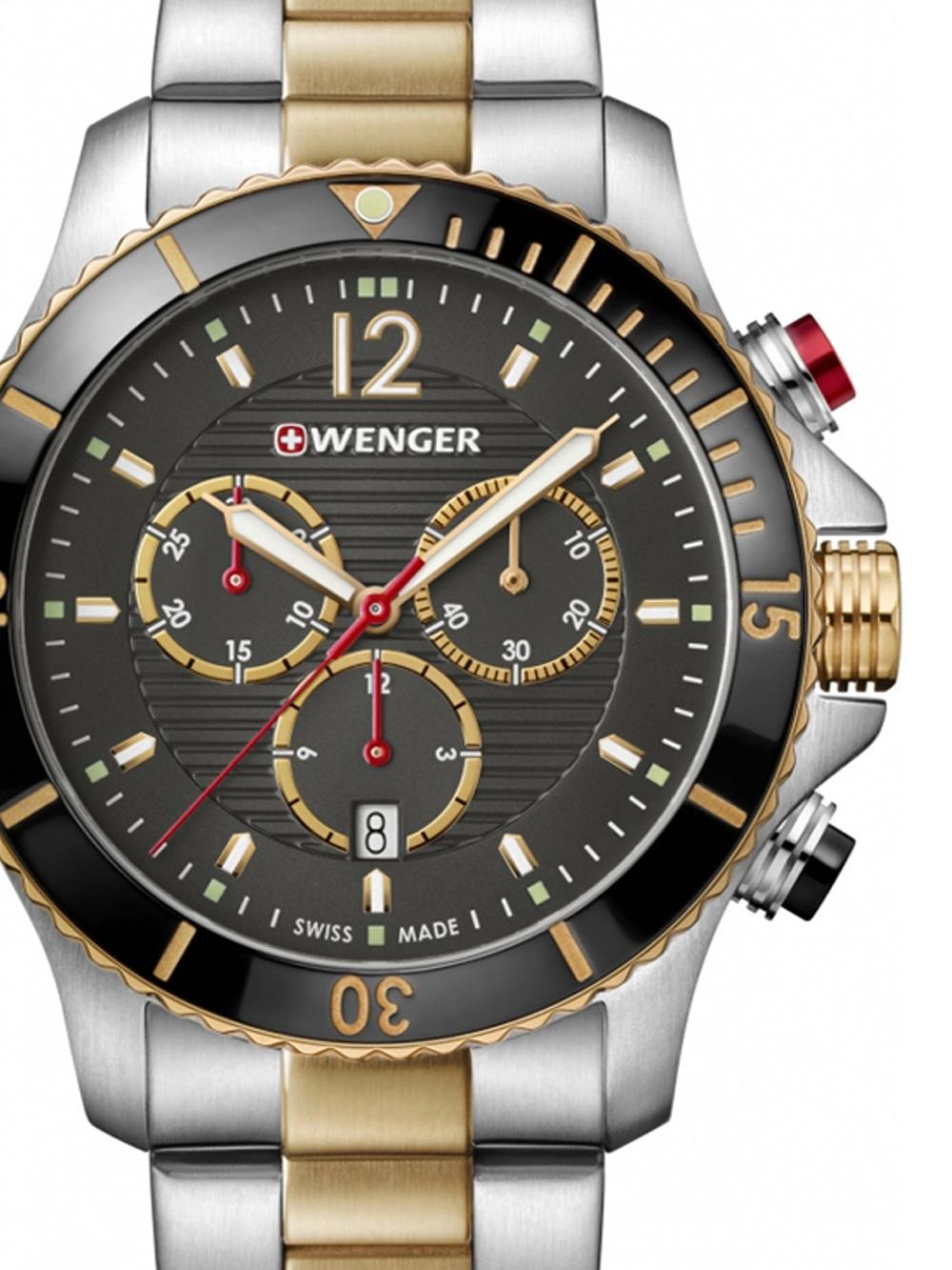 Wenger 01.0643.113 Seaforce Chronograph 43mm 20ATM