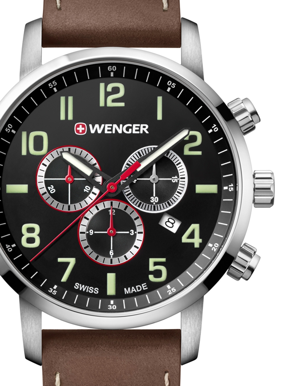 Wenger 01.1543.103 Attitude Chronograph 44mm 10ATM