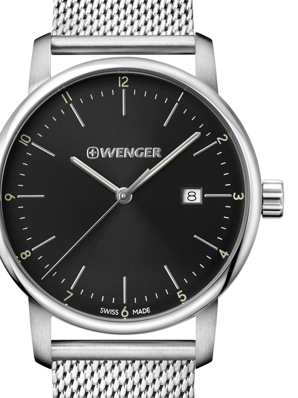 Wenger 01.1741.114 Urban Classic Herren 42mm 10ATM